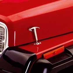 Attache capot inox Jeep 1942 à 1995