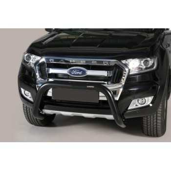 Super bar noir 76 mm Ford Ranger 2012-2018