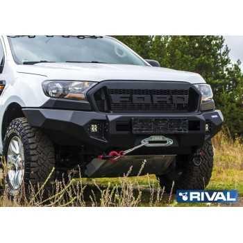 Pare choc avant aluminium 6 mm RIVAL Ford Ranger 2012+