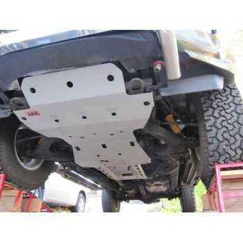 Blindage ARB aluminium complet av et ar Isuzu D-Max 2012+