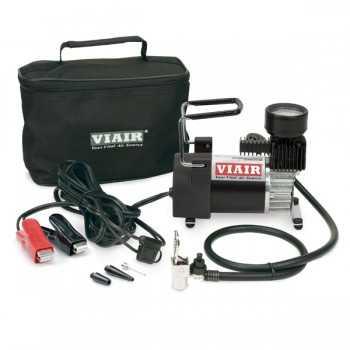 Compresseur VIAIR portable - 90P - 50 L-MIN A 0 BARS - CYCLE 15%