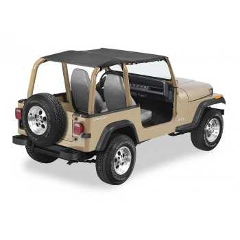 Bikini® Tops Bestop® safari noir Jeep Wrangler YJ 1992-1995