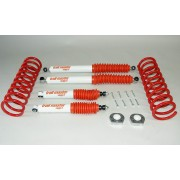 Kit suspension trail master +50/80 mm Nissan Terrano II R20 1993-2007 3 portes