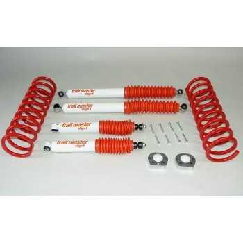 Kit suspension trail master +25/50 mm Nissan Terrano II R20 1993-2007 3 portes
