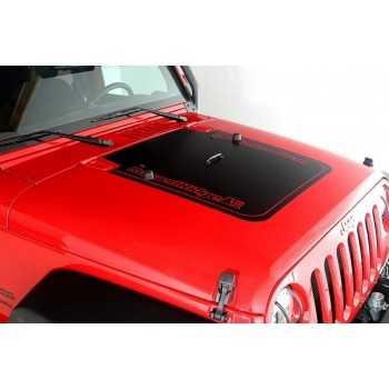 Autocollant vinyl RUGGED RIDGE Jeep Wrangler 2007-