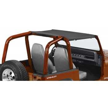 Bikini SUN CAP pavement ends noir Jeep Wrangler TJ 2003-2006