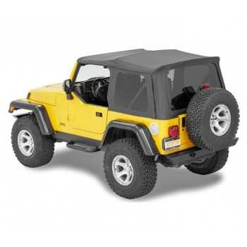 Capotage Bestop® supertop nx noir Jeep Wrangler TJ 1997-2006