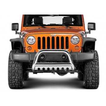 Big bar 76 mm INOX Jeep Wrangler JK 2010-2018