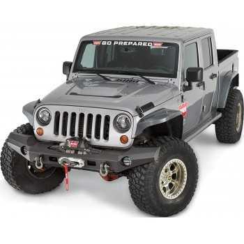Pare choc avant WARN ELITE Jeep Wrangler JK 2007-2018