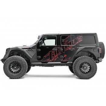 Aile arriere FAB FOURS Jeep Wrangler JL 2 et 4 portes