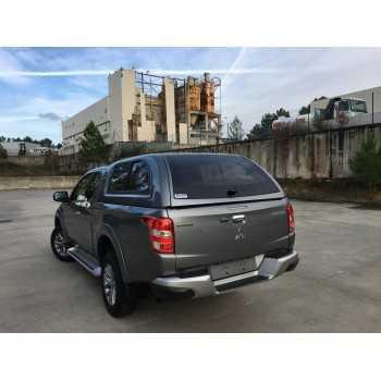 Hard top Star-lux a/vitres latérales Mitsubishi L200 club cab 2019+ 2 portes