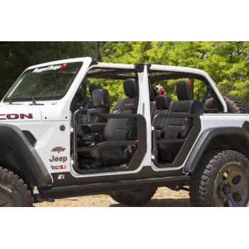Jeu de demi-portes avant avec retroviseur Jeep Wrangler JL 2018-