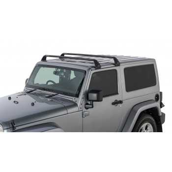 Kit de barres de toit RHINO RACK Jeep Wrangler JK et JL 2007-2020 2 portes