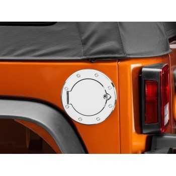 Bouchon de reservoir chrome Jeep Wrangler JK 2007-2018