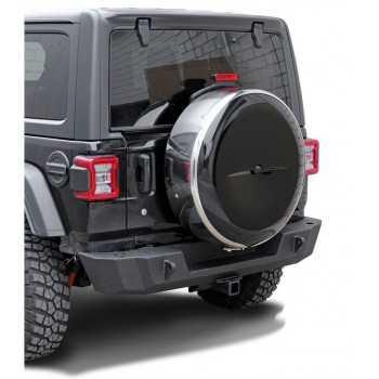 Couvre roue inox - 255/75R17 - 255/70R18 Jeep Wrangler JL 2018+