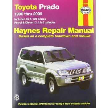 Revue automobile HAYNES TOYOTA KDJ 90/95120/125 1996-2009