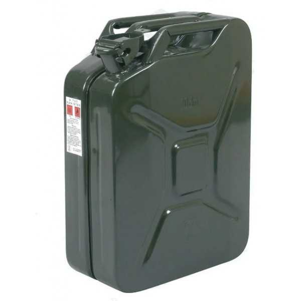 Jerrican metal US 20 litres a bayonnette