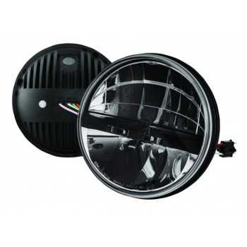 Optique de phare a led Jeep Wrangler JK  07-18
