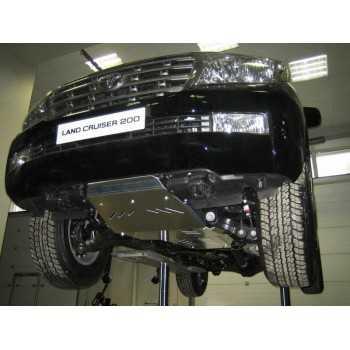 Blindage moteur aluminium