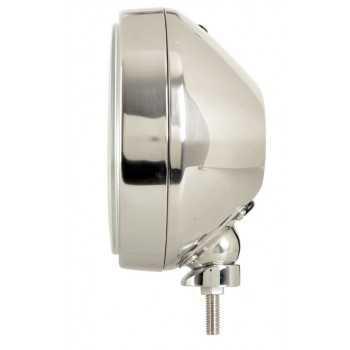 Phare rond predateur 211 mm inox 12 V H1