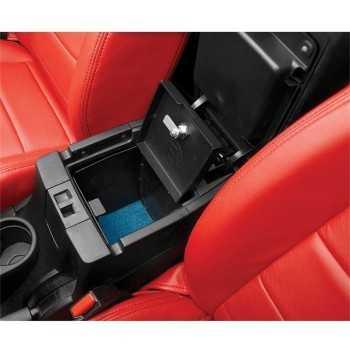 Boîte antivol de console intérieure Bestop Jeep Wrangler JK 2007-2018