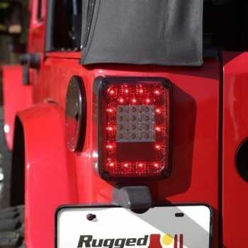 FEUX ARRIERE LED  JEEP WRANGLER  2007-