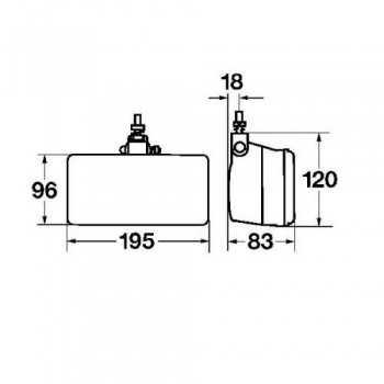 Projecteur antibrouillard Classic 181