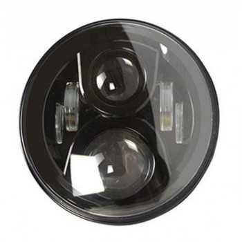 Optique de phare a LED fond noir JEEP-TOYOTA-NISSAN-LAND ROVER-MITSUBISHI