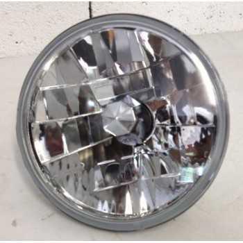 Optique de phare rond lisse H4 sans veilleuse Toyota-Nissan-Land Rover-Mitsubishi