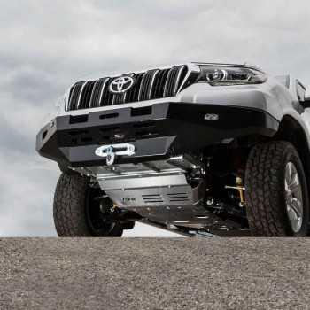 Pare choc ASFIR avec support de treuil Toyota KDJ 150 2015+ boite meca