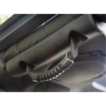 Poignée d'arceau noire arrière Jeep Wrangler JK 2007-2018