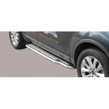 Marche pieds inox 50 mm Ford Kuga 2008-2012