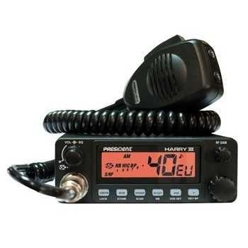 Poste CB HARRY III ASC 40 CX AM-FM Multi Normes