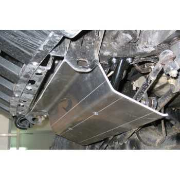 Blindage moteur aluminium 8 mm Nissan GR Y61 2000-2005