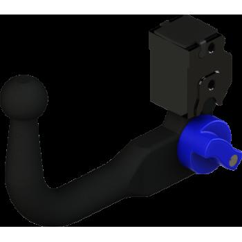 Rotule d'attelage GDW escamotable démontable sans outil