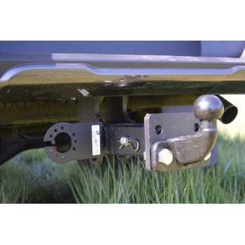 Attelage carré 2'' ROCKALU homologué Ford Ranger 2012-