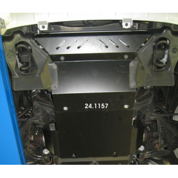 Blindage moteur acier Toyota Hilux Vigo 2.5D-4D, 3.0TD 11-2005-2015