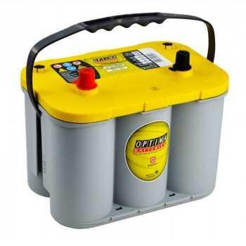 Batterie OPTIMA JAUNE 765A 12V-55Ah Capacité de réserve : 124 minutes à 25A