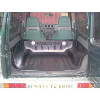 Protection de coffre SUZUKI SAMOURAI chassis court - 09/84 à 1998