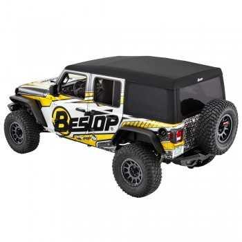 Capotage bestop® Supertop® Ultra noir Jeep Wrangler JL 2018- 4 Portes
