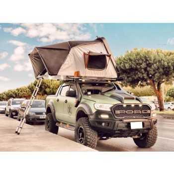Tente de toit Compass Aircamp  ouvert 195x220 x110