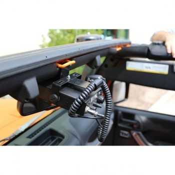 Support radio CB Jeep Wrangler JK 2007-2018