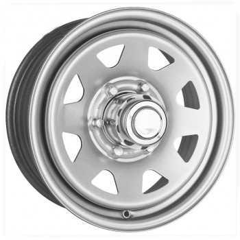 Jante acier grise 8X15 Jeep Cherokee/Wrangler 5 trous 114,3
