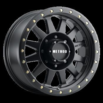 Jante aluminium Method Race 701 matte black 8,5x17 6/139,7 ET0