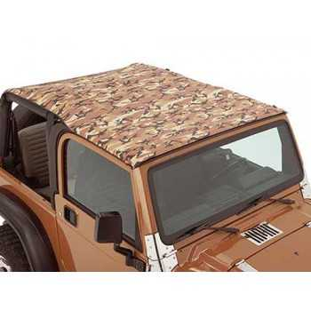 Bikini® Tops beige camouflage Jeep Wrangler TJ 2003-2006