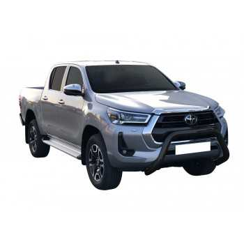 Medium bar Noir Toyota Hilux 2021+ HOMOLOGUÉES CE