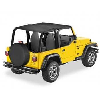 Bikini® Tops SAFARI noir Jeep Wrangler TJ 1997-2002