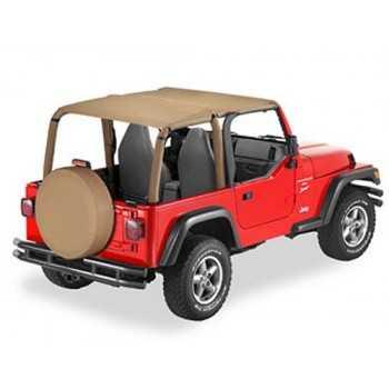 Bikini® Tops SAFARI beige Jeep Wrangler TJ 1996-200