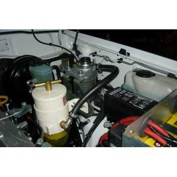 Kit montage pré-filtre RACOR Toyota HDJ80-HZJ80 (sans ABS)