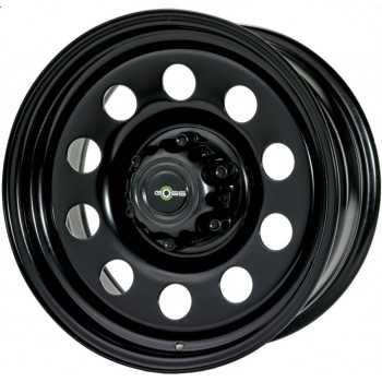 Jante acier Goss Modular II Black 7X17 Toyota-Nissan-Mitsubishi-Ford 6 trous 139,7 déport ET20